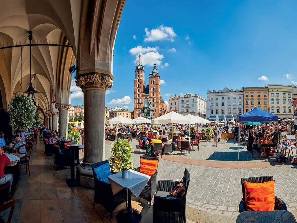 Centre-ville de Cracovie