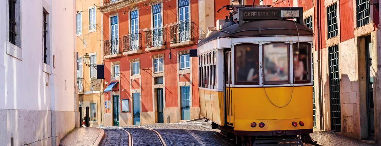 Le célèbre tramway de Lisbonne