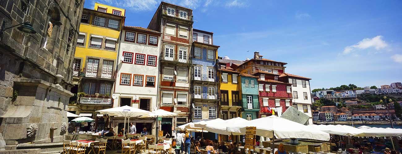 Les maisons colorées de Porto