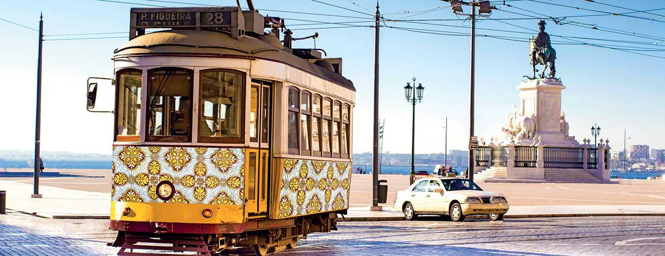 Les tramways de Lisbonne