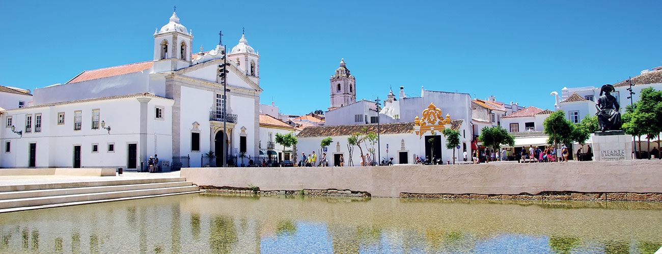 Lagos en Algarve