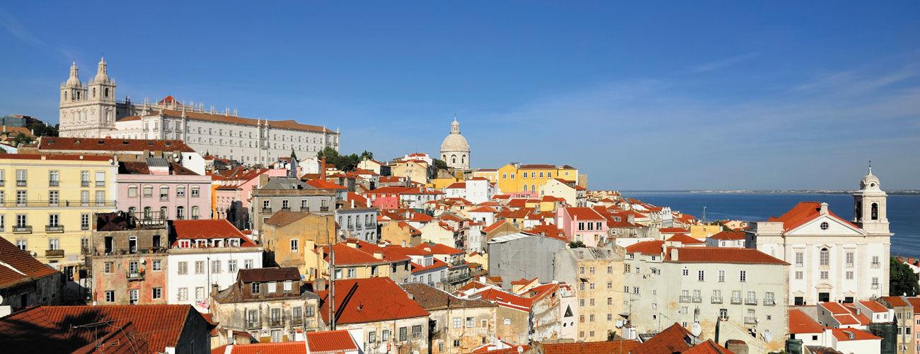 Quartier d'Alfama à Lisbonne