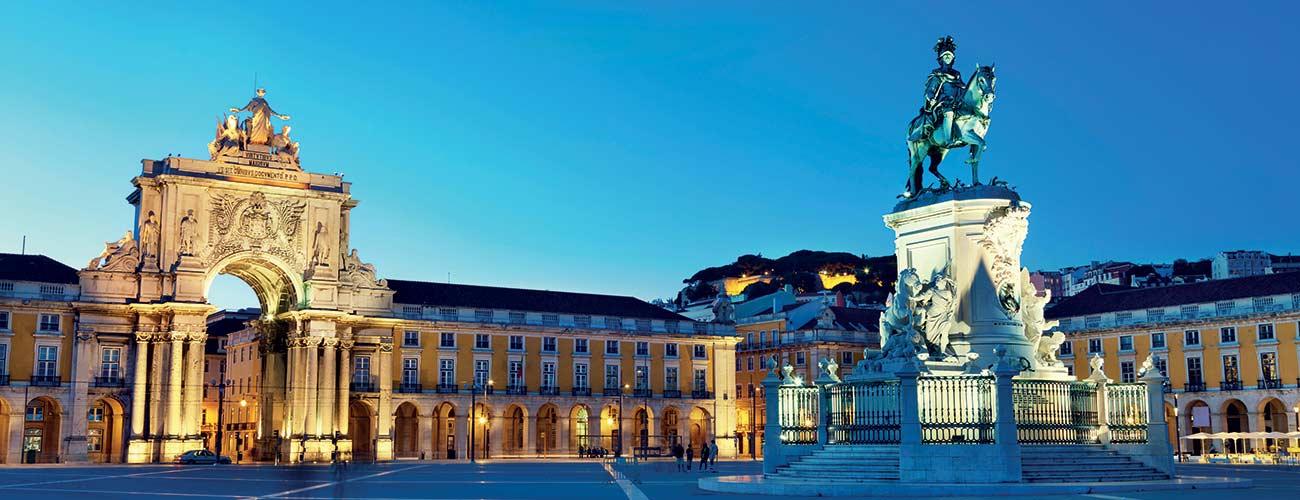Grande place de Lisbonne