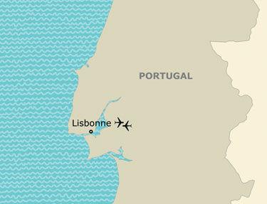 Itinéraire de votre programme à Lisbonne