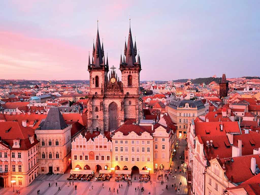 République Tchèque - Prague - Réveillon à Prague avec soirée du Nouvel An à l'hôtel - Hôtel Ambassador 5* - Visites et repas inclus