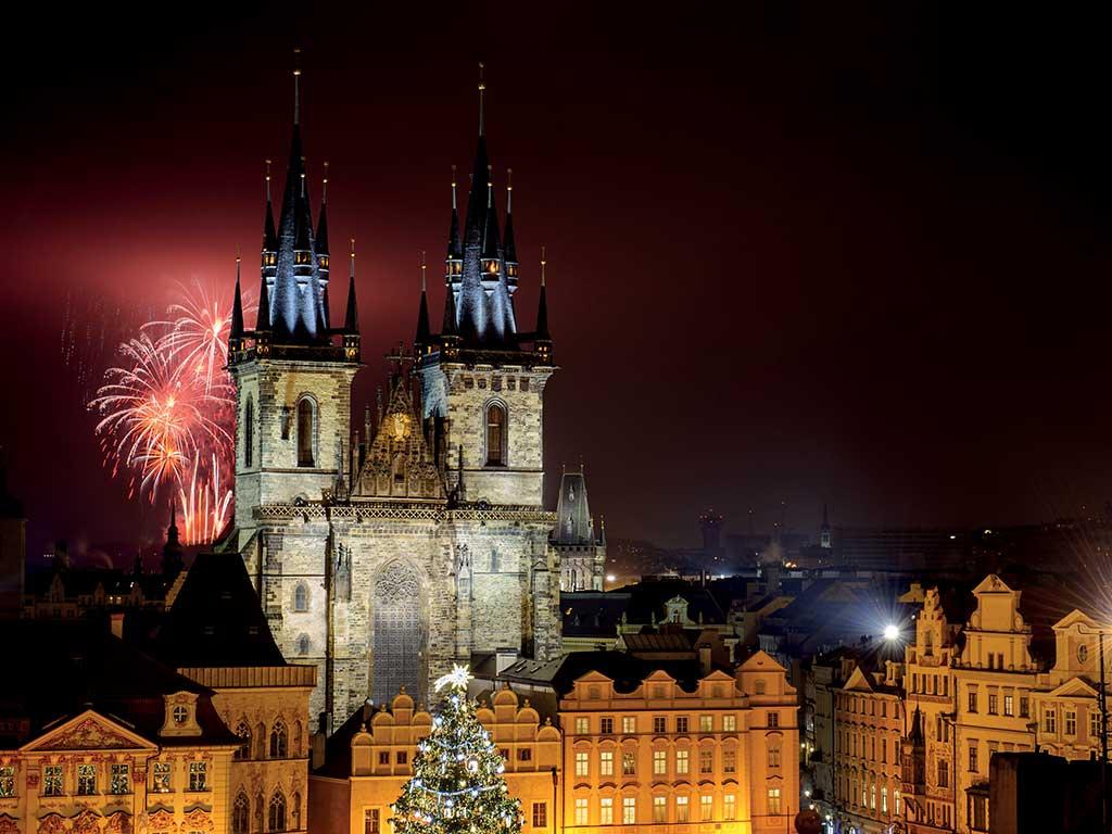 République Tchèque - Prague - Réveillon à Prague avec soirée du Nouvel An à l'hôtel Ambassador - Pentahotel Prague 4* - Visites et repas inclus