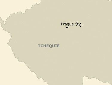 L'itinéraire de votre voyage à Prague
