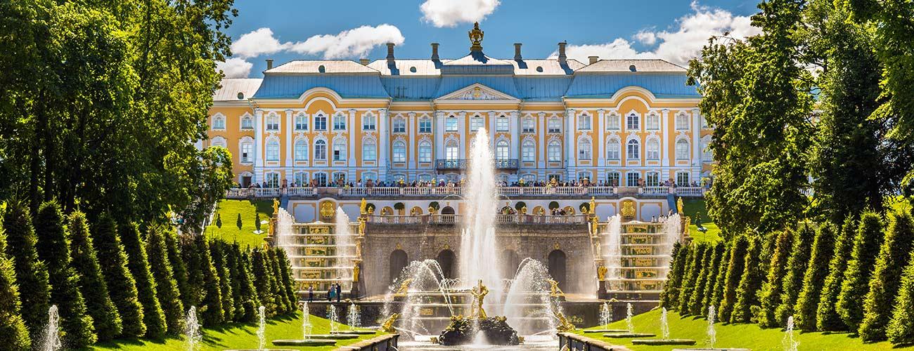 Peterhof, le