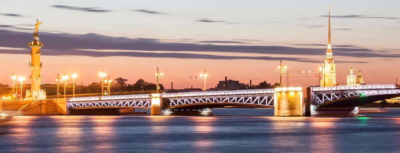 Vue de Saint-Pétersbourg